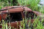 Rusty car just needs a bit of oil!