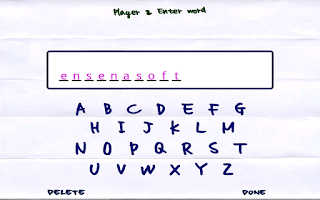 Screenshot of Doodle Hangman HD Free