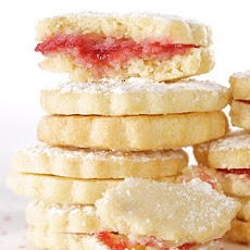 Lemon-Raspberry Sandwiches