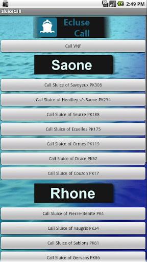 Sluice Call