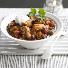 Chipotle Chicken & Black Bean Chilli