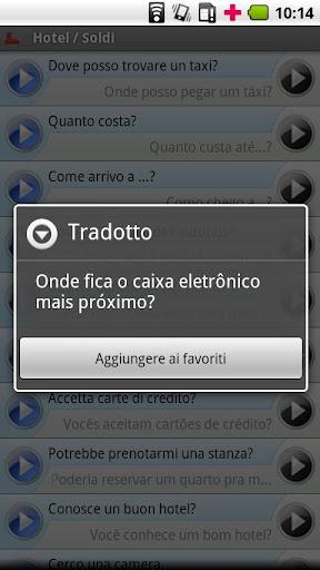 【免費旅遊App】Italian - Portuguese (Brazil)-APP點子