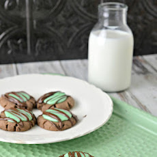 Mint Chocolate Cookies Recipe - St. Patrick's Day Treat