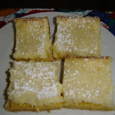 Rich Butter Cake Bars
