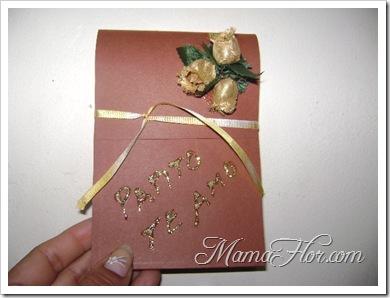 Una hermosa tarjeta para papá con mensajes de amor