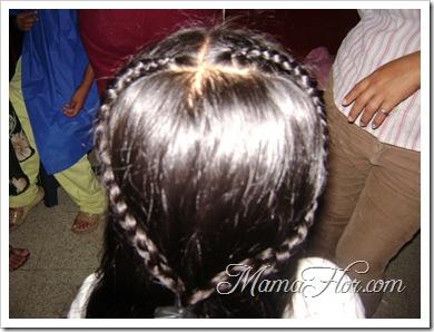 Peinados : trenza  corazon