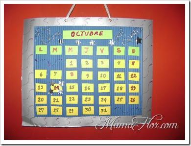 Tarjeta de amistad en forma de calendario manualidades for Calendario manualidades