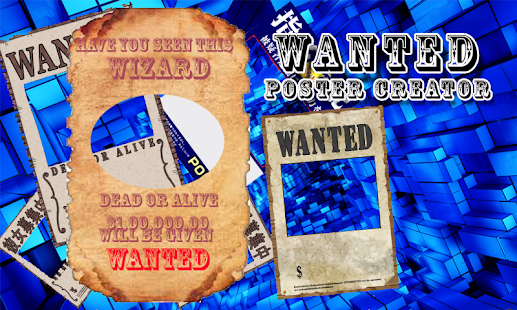 Wanted Poster Creator - screenshot