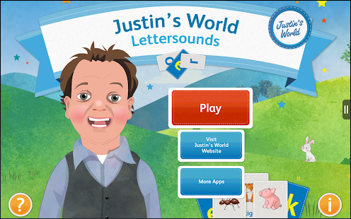 Justin's World - Lettersounds - screenshot