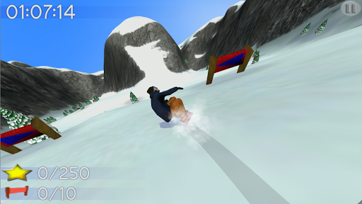 Big Mountain Snowboarding - screenshot