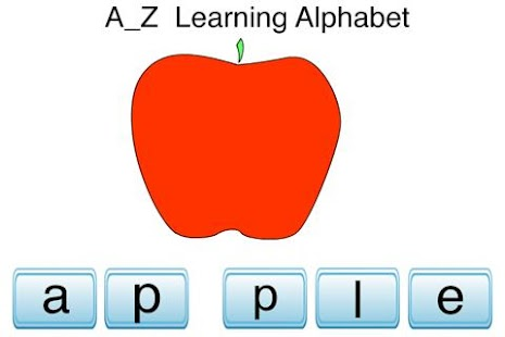 A to Z Learning Alphabet - screenshot