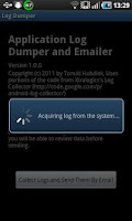 Screenshot of Log Dumper and Emailer