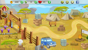 Screenshot of Safari Escape