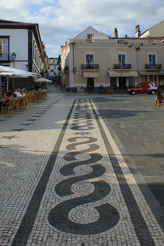 Calçada em Ponta Delgada