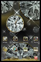 Screenshot of Diamond Widget Clock