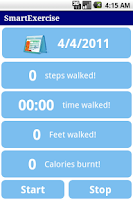 Screenshot of SmartExercise