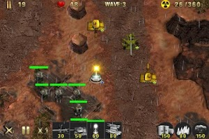 Screenshot of Army Defense Free