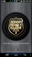 Screenshot of KPOP IDOL STARWALLPAPER(GUIDE)
