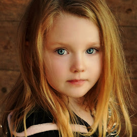 Litte Witch by Cheryl Korotky - Babies & Children Child Portraits