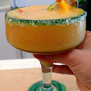 Noble Pig's Peach Margaritas