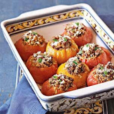 Stuffed Heirloom Tomatoes