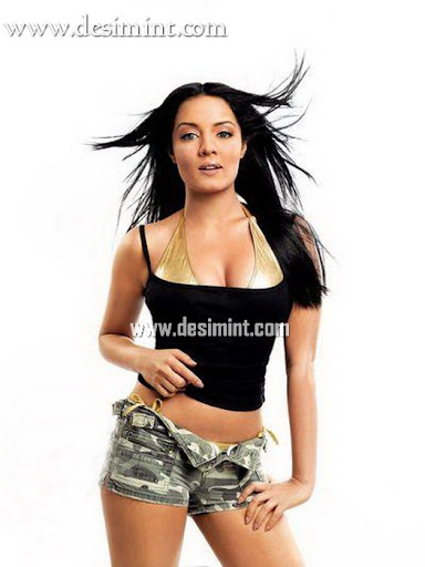Hot Sexy Actress Celina Jaitely On Maxim Magazine Cover