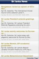 Screenshot of Sri Lanka News