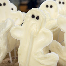White Chocolate Ghosts