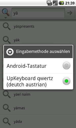 Keyboard Android QWERTZ DE
