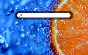 FREE Refreshing Orange Slice Creative Commons