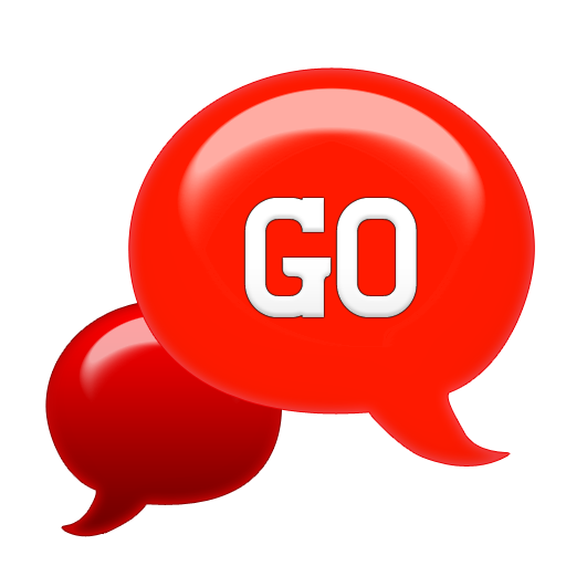 GO SMS - Seeing Red SMS LOGO-APP點子