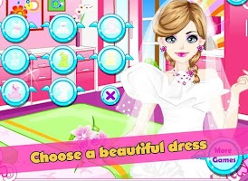 Screenshot of Bride in love makeover girls