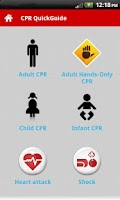 Screenshot of CPR QuickGuide