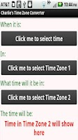 Screenshot of Timezone Converter Free