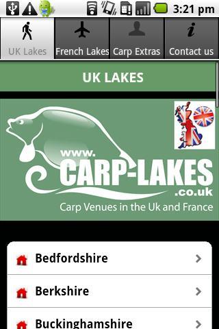 carp lakes