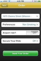Screenshot of Taxi Mojo - Cab orders with li