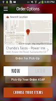 Screenshot of Chando's Tacos