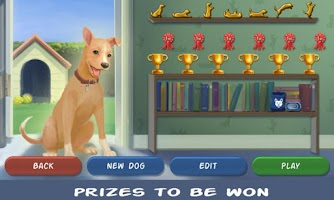 Screenshot of Clickety Dog: Pet School