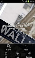 Screenshot of Business Quotes