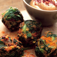 Cook the Book: Crunchy Red Swiss Chard Falafel