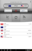 Screenshot of Easy Currency Converter Pro