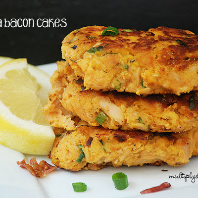 Tuna Bacon Cakes