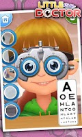 Screenshot of Little Eye Doctor - Free games