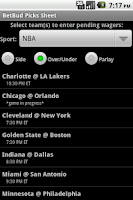 Screenshot of BetBud - sports bet tracker
