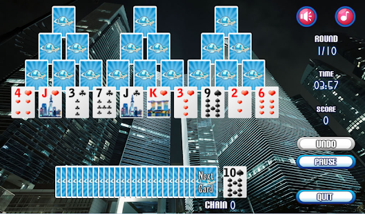 Skyscraper Solitaire Free- screenshot thumbnail