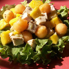 Mango, Melon and Chicken Salad (Low Sodium)
