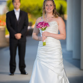 First look! by Paul Brown Jr. - Wedding Bride & Groom