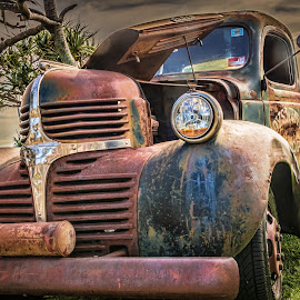 Rusty Truck by Esther Visser - Transportation Automobiles