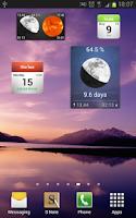 Screenshot of Hijri Calendar Lite