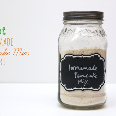 The Best Homemade Pancake Mix Ever